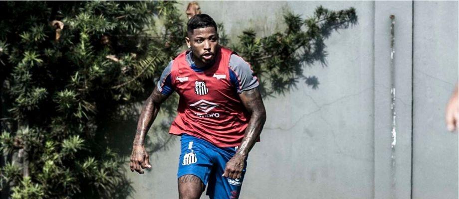 Atacante santista aposta em grande atuação do time da Vila no Maracanã. Foto: Ivan Storti/SantosFC