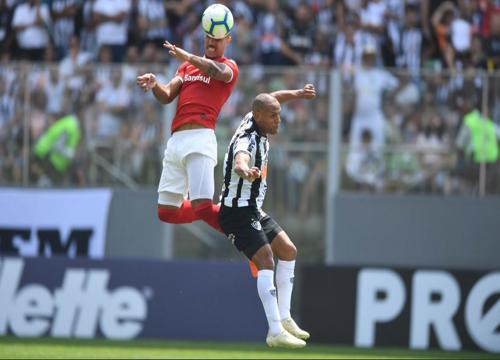 O Internacional venceu o Atlético-MG, por 3 a 1, em Minas Gerais. Foto: Reprodução Instagram