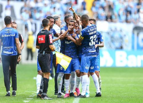 O clube gaúcho comemorou 116 anos de fundação, nesse domingo. Foto: Grêmio FBPA