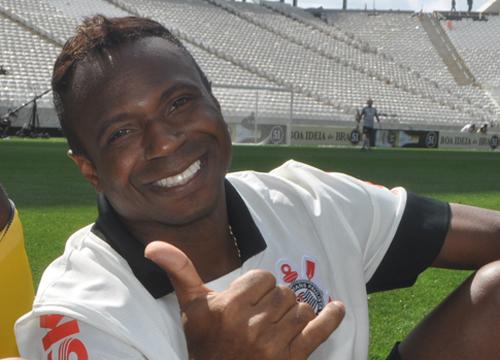 Atacante teve marcantes passagens por Corinthians e Palmeiras. Foto: Marcos Júnior Micheletti/Portal TT