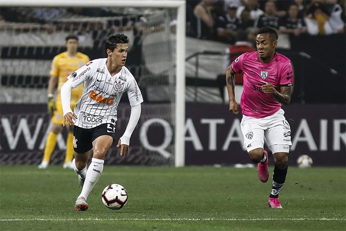 O jogo de volta acontecerá na próxima quarta-feira (25). Foto: Rodrigo Gazzanel / Ag. Corinthians