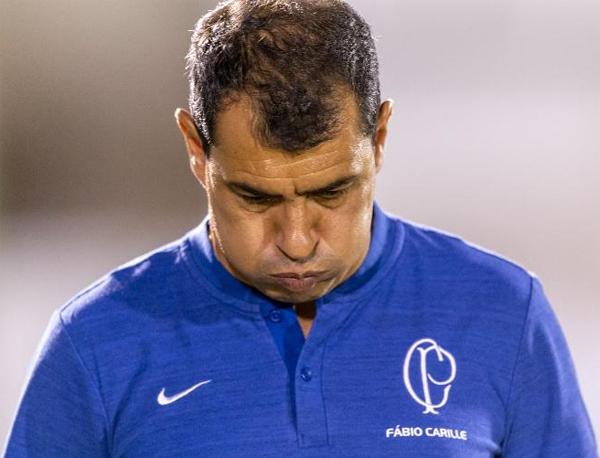 E o que me deixou triste com Carille, também, foi sua entrevista pós-jogo. Foto: Daniel Augusto Jr./Agência Corinthians