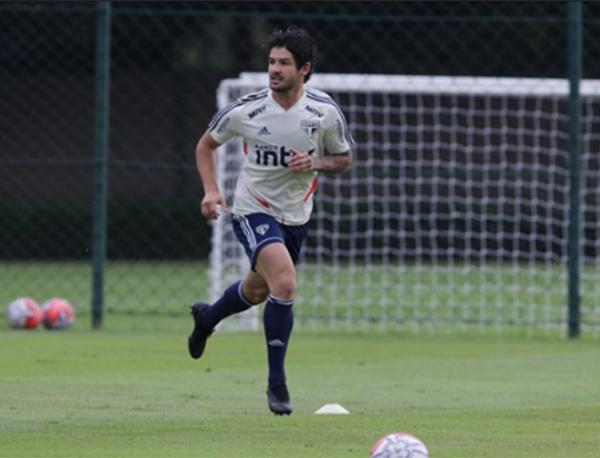 Para começar bem o returno, mas sem Pato. Foto: Rubens Chiri/São Paulo FC