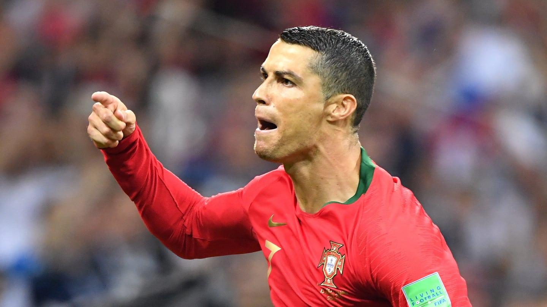 Ronaldo fez grande partida contra a Espanha. Foto: Getty Images/FIFA