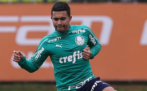 Recuperado da lesão, Dudu está confirmado contra os alagoanos. Foto: Divulgação site Palmeiras