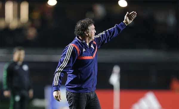Derrota para o Goiás foi a gota d´água para a saída do treinador. Foto:  Paulo Pinto/ saopaulofc.net