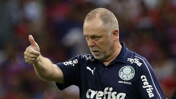 Treinador comandou o Palmeiras na partida disputada no Pacaembu. Foto Cesar Greco/Ag. Palmeiras