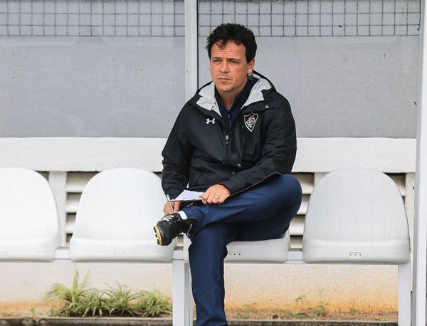 É muito difícil cravar ou o sucesso ou o fracasso de qualquer profissional. Lucas Mercon/Fluminense