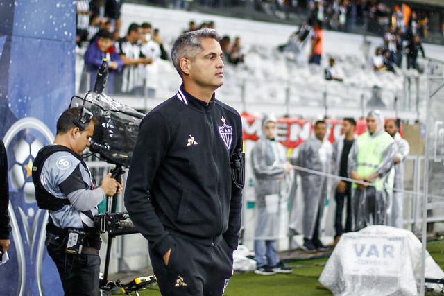 Treinador do Atlético busca recuperação no domingo. Foto: site oficial do Galo
