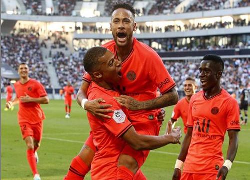 Neste sábado (28), o PSG venceu o Bordeaux por 1x0. Foto: Reprodução Instagram