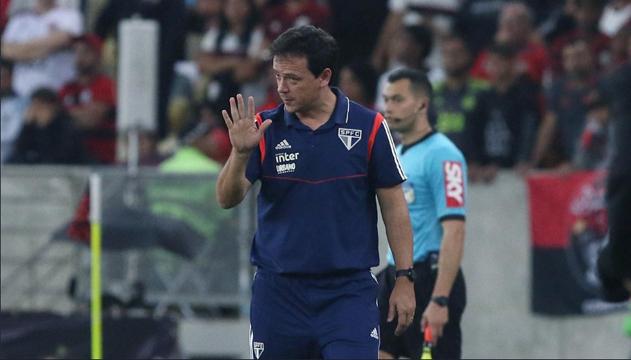 No Maracanã, o confronto entre o Tricolor e o Mengo acabou em 0 a 0. Foto: Rubens Chiri