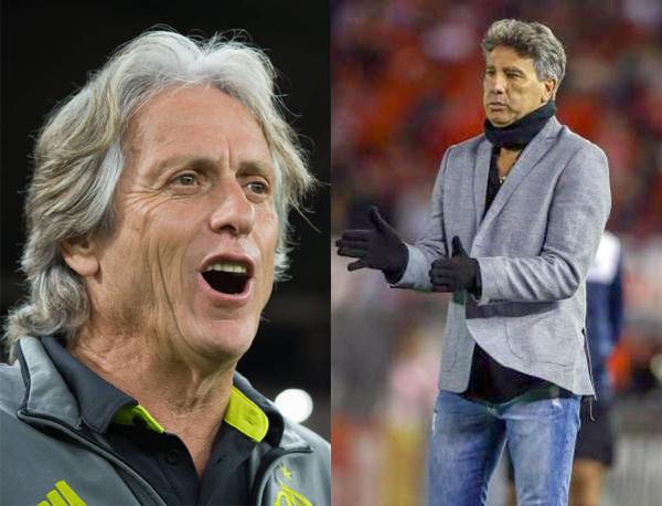 Fotos: Alexandre Vidal/Flamengo e Lucas Uebel/Grêmio