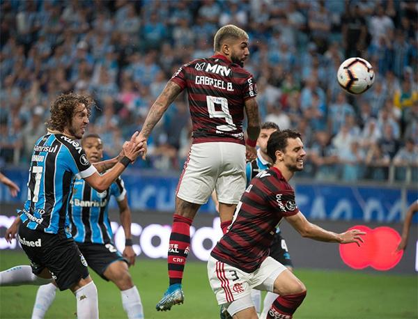 O duelo de volta acontecerá no dia 23 de outubro, às 21h30. Foto: Alexandre Vidal/Flamengo