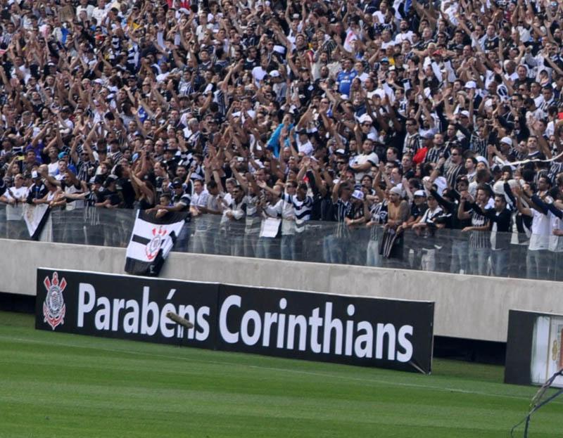 O nome do Timão é incomparável e impulsiona patrocinadores. Foto: Marcos Júnior Micheletti/Portal TT