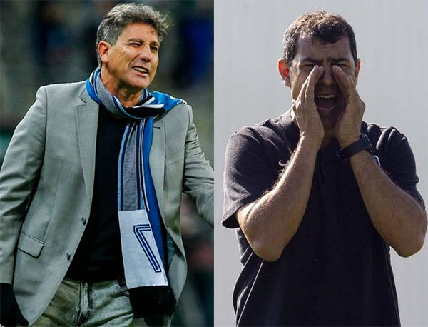 Fotos: Lucas Uebel/Grêmio e Daniel Augusto Jr./Ag.Corinthians