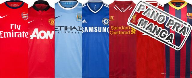 Conheça as origens das cores dos principais clubes europeus
