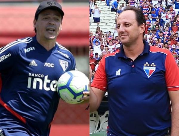 Fotos: Rubens Chiri/SPFC e divulgação/Fortaleza