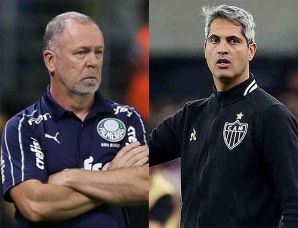 Fotos: Cesar Greco/Palmeiras e Bruno Cantini/Atlético-MG