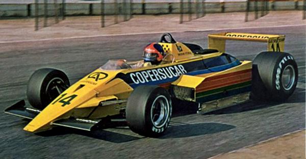 Modelo revolucionário foi projetado para a temporada de 1979. Foto: Divulgação