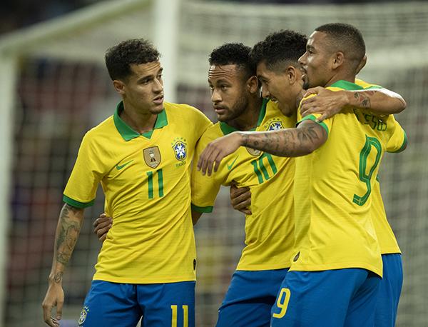 Firmino marcou cedo, mas não foi suficiente para o Brasil bater Senegal (Lucas Figueiredo/CBF)