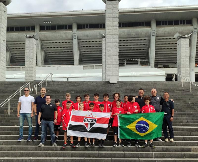 O Coração FC já veio diversas vezes ao país e está retribuindo as visitas