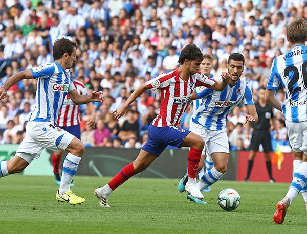 Apontado como substituto de CR7, português João Felix foi comparado a Kaká (Foto: Atletico de Madrid/Angel Gutiérrez)