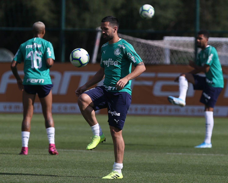 Equipe alviverde busca recuperar a vice-liderança. Foto: Cesar Greco/Ag. Palmeiras/Divulgação