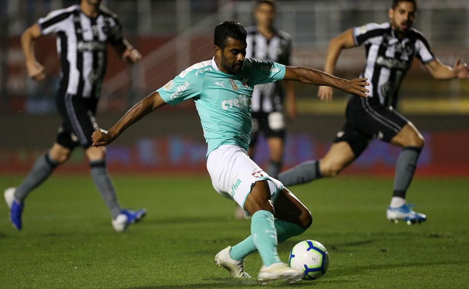 Equipe de Mano Menezes construiu sua vitória na primeira etapa. Foto: Cesar Greco/Ag. Palmeiras/Divulgação