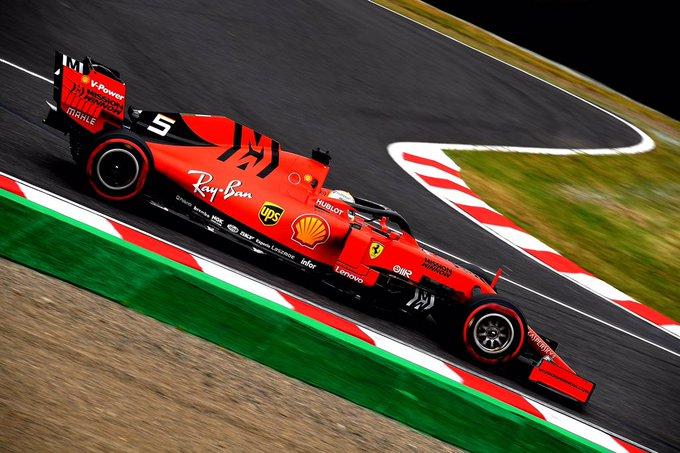 Alemão superou o companheiro de equipe. Foto: Scuderia Ferrari