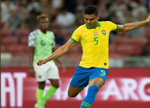 Brasil e Nigéria empatam por 1 a 1, em Singapura. (Foto: @CBF_Futebol)
