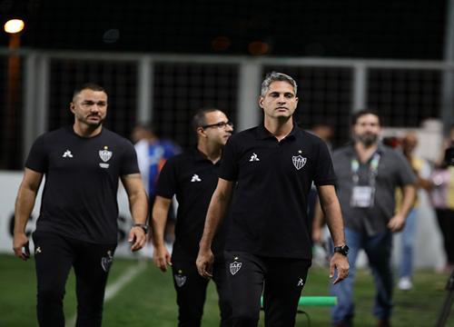 A decisão veio depois da derrota para o Grêmio. (Foto: Atlético-MG)