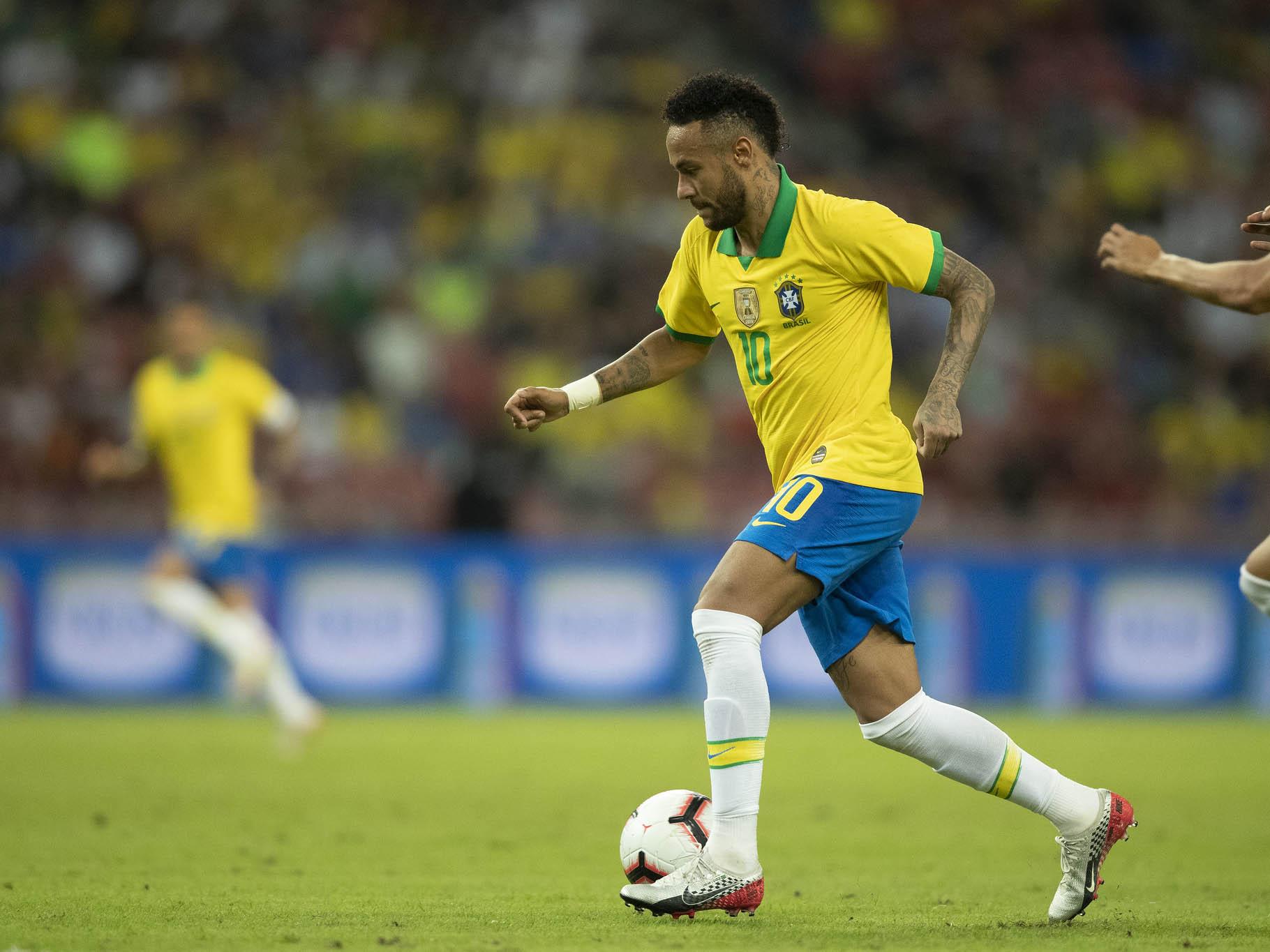 Decidido a deixar o PSG na última janela de transferências, Neymar se esforçou para ser contratado pelo Real Madrid, afirma jornal espanhol (Foto: Lucas Figueiredo/CBF)