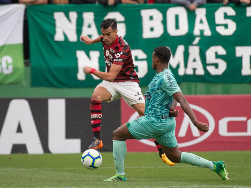 Atacante Reinier não se apresentou e foi cortado da seleção sub 17 que disputa o mundial da categoria (Foto: Alexandre Vidal / Flamengo)