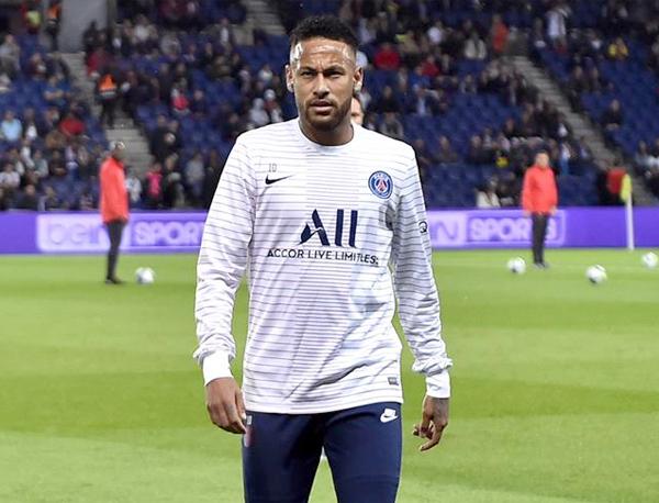 Neymar segue sofrendo ataques de parte da torcida do clube francês. Foto: Divulgação/PSG
