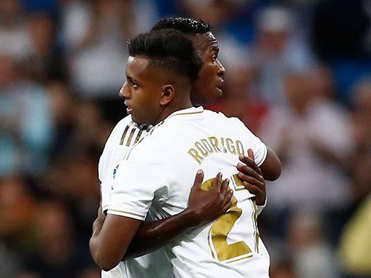 Rodrygo e Vinicius Jr estão entre os 20 indicados ao Golden Boy 2019 (Foto: Real Madrid/Divulgação)