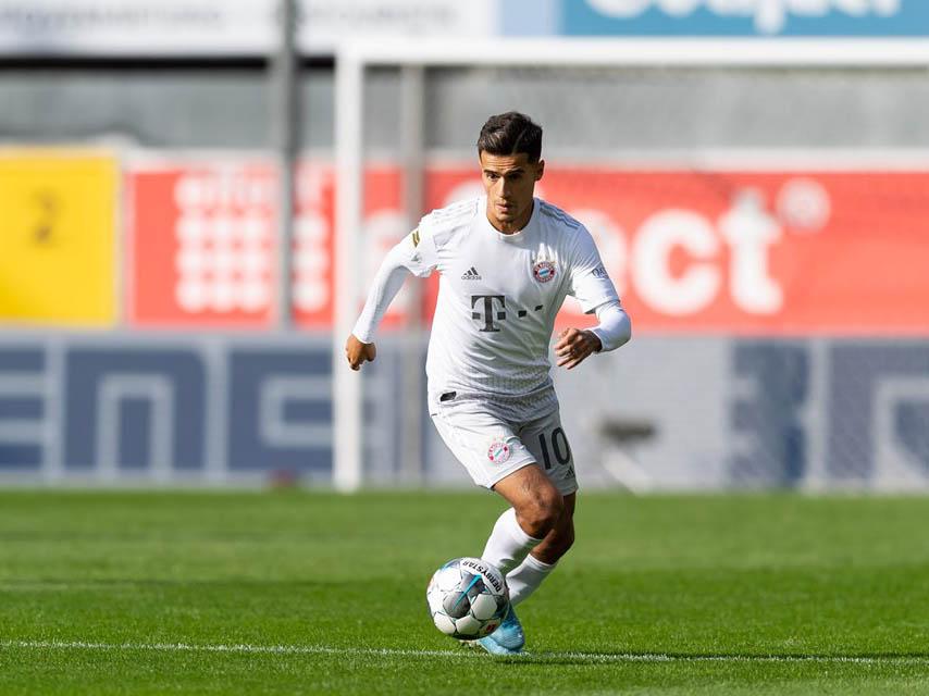 Após passagem apagada pelo Barça, Coutinho tem bom início no Bayern (Foto: Bayern de Munique/Divulgação)