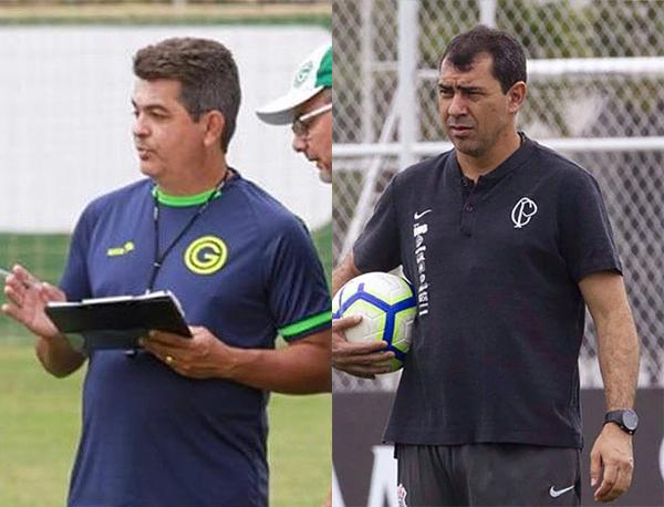 Fotos: Dilvulgação/Goiás e Daniel Augusto Jr./Agência Corinthians