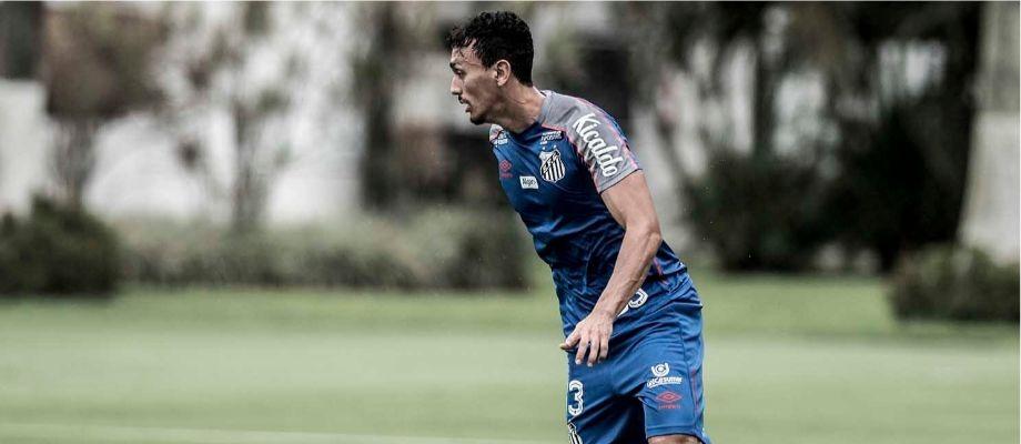 Zagueiro é um dos destaques da retaguarda do Peixe. Foto: Ivan Storti/SantosFC