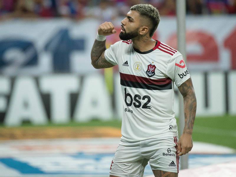 Com 20 gols marcados, Gabigol é o artilheiro do Brasileirão 2019 (Foto: Alexandre Vidal / Flamengo)