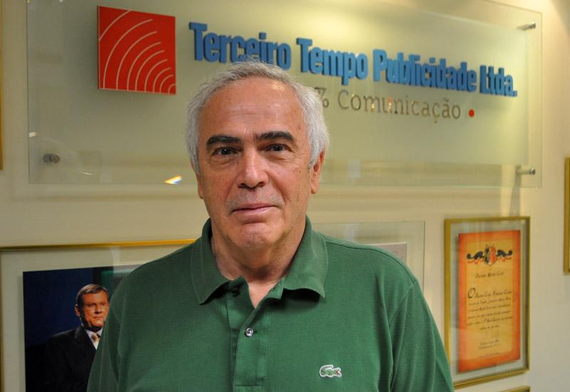 Atualmente no setor de comunicação da FASP, Beegola também comanda um site. Foto: Marcos Júnior Micheletti/Portal TT