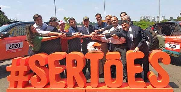 Anúncio foi feito no Palácio dos Bandeirantes. Foto: Divulgação/Sertões