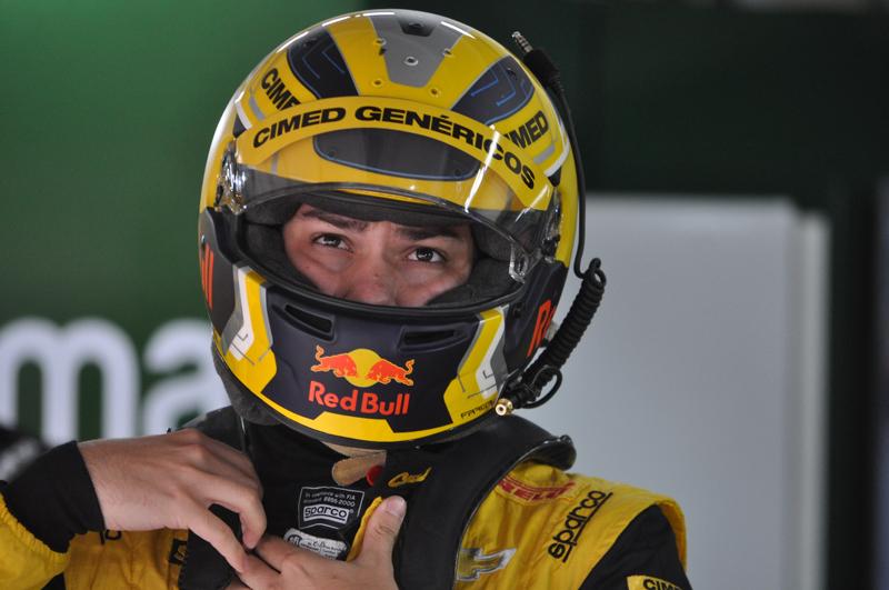 Piloto da Cimed Racing largou em segundo e venceu. Foto: Marcos Júnior Micheletti/Portal TT