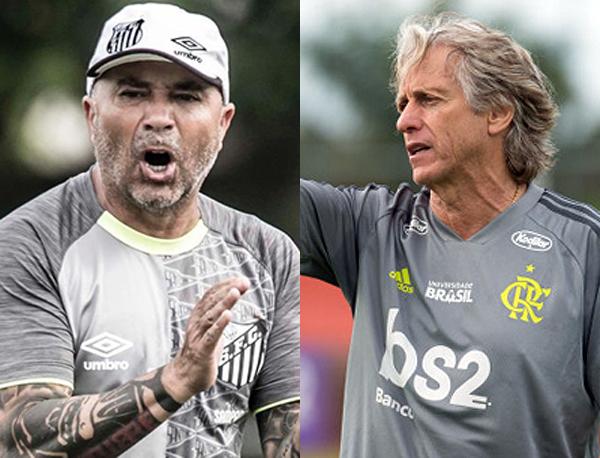 Fotos: Ivan Storti/Santos e Alexandre Vidal/Flamengo