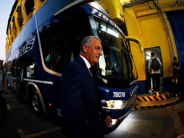 Gustavo Alfaro deu a entender que pode deixar o Boca no final do ano (Foto:Boca Juniors/Divulgação)
