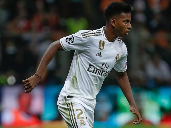 Rodrygo foi destaque em seu primeiro jogo com o Real Madrid na Liga dos Campeões (Foto: Real Madrid/Divulgação)