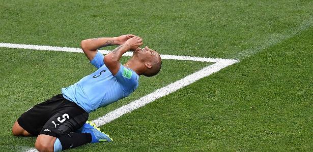 Carlos Sánchez defendeu a seleção uruguaia na Copa do Mundo da Rússia