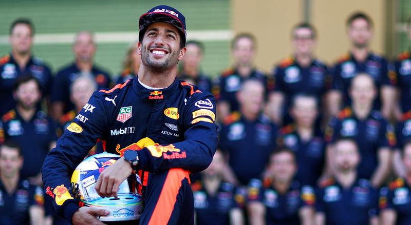 Australiano pode não estar no lugar certo e na hora certa. Foto: Red Bull Racing