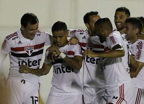 Tricolor ganhou a segunda partida no Paulistão. Foto: Rubens Chiri/saopaulofc.net