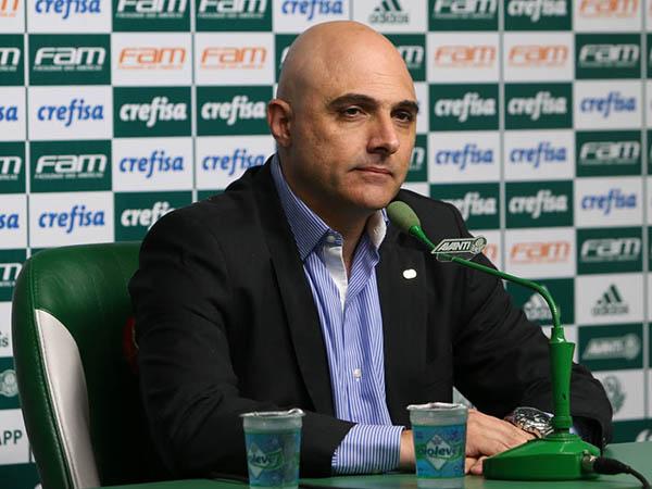 Galiotte ficará afastado das atividades no clube por duas semanas (Foto: Cesar Greco/Agência Palmeiras/Divulgação)