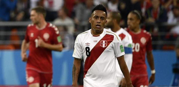 Cueva defendeu o Peru durante a Copa do Mundo da Rússia